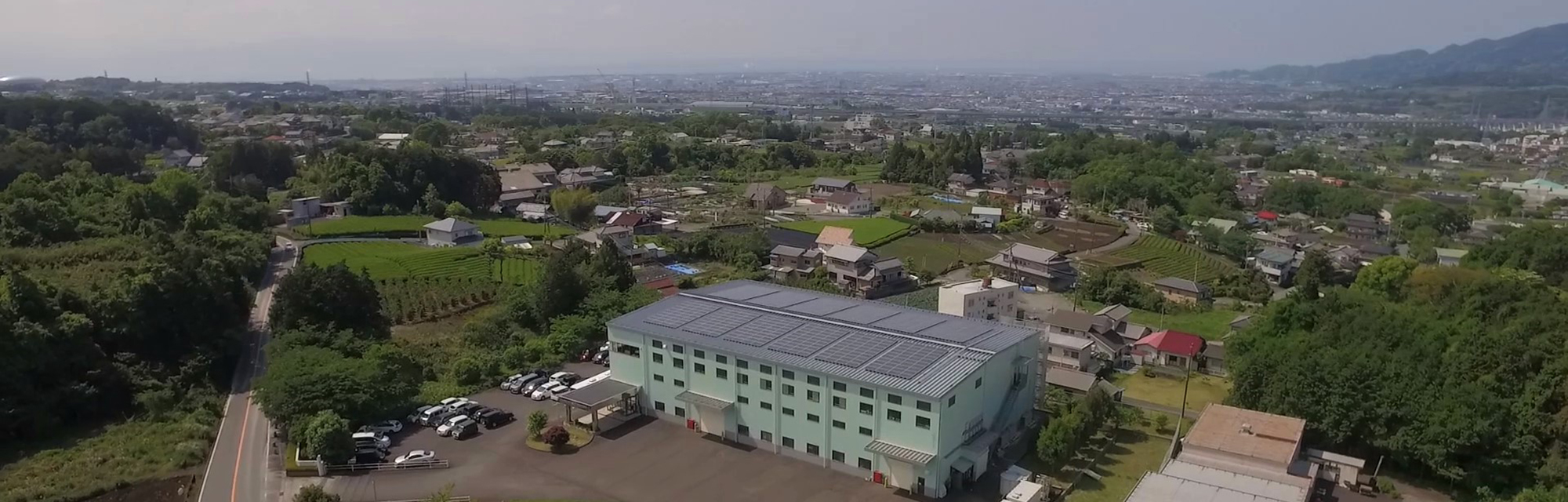 富士見工場外観|株式会社三協